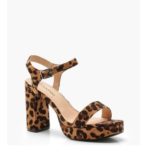 Shoes - Cheetah heels size 7